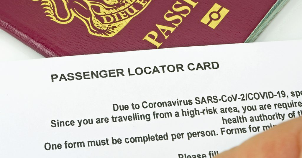 cruise safety a passenger locator card