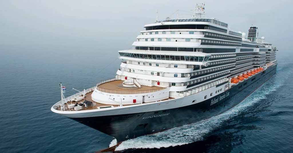 Holland America Line Extends Cruise in operations