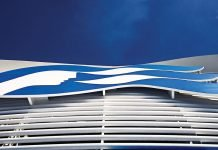 Princess Cruises Logo On Ship