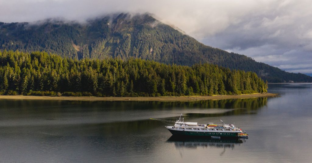 UnCruise Adventures Wilderness Adventurer in Neka Bay
