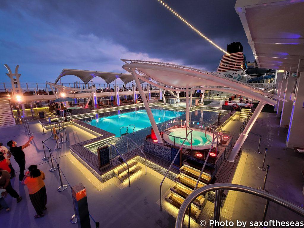 Singapore Cruise Pool Deck