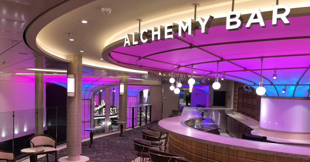 Carnival Cruise Mardi Gras Alchemy Bar