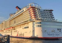 Carnival Cruise Mardi Gras Exterior