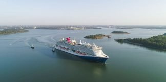 Mardi Gras Sea Trial Carnival Cruise