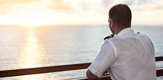 Princess Promise Princess cruises Officer Viewing Sunset