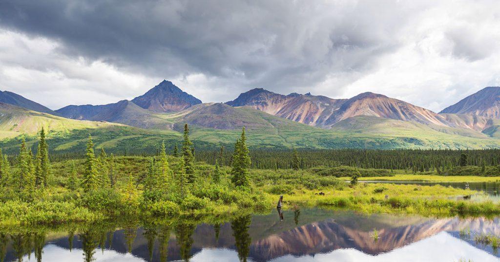 Alaska Cruise questions lake