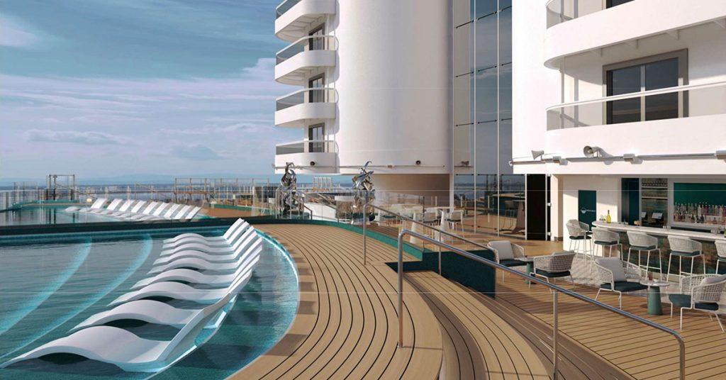MSC Cruises MSC Seashore Infinity Pool