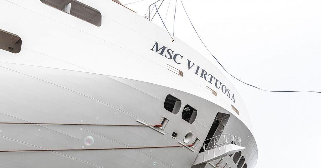 MSC Cruises MSC Virtuosa Delivery - Credit Ivan Sarfatti