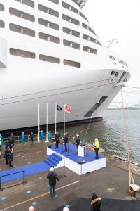 MSC Cruises MSC Virutosa Delivery at Chantiers de l'Atlantique Credit Ivan Sarfatti