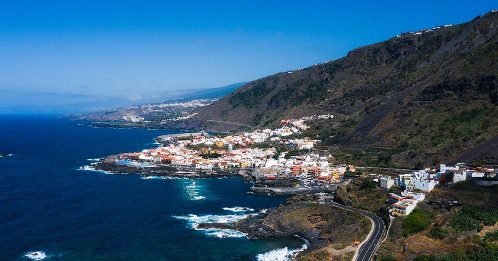 AIDA Cruises beach in tenerife canary islands spain