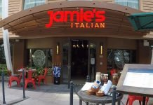 Amazing Food Jamies Italian