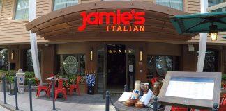 Amazing Food Jamies Italian