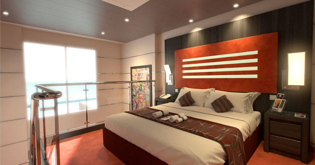 MSC Cruises Yacht Club Virtuosa Yacht Club Duplex Suites