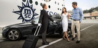 MSC Cruises Yacht Club dedicated check in for guests