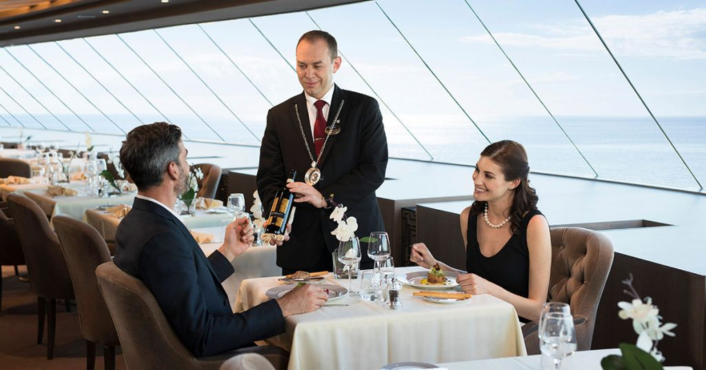 MSC Cruises Yacht Club private dining