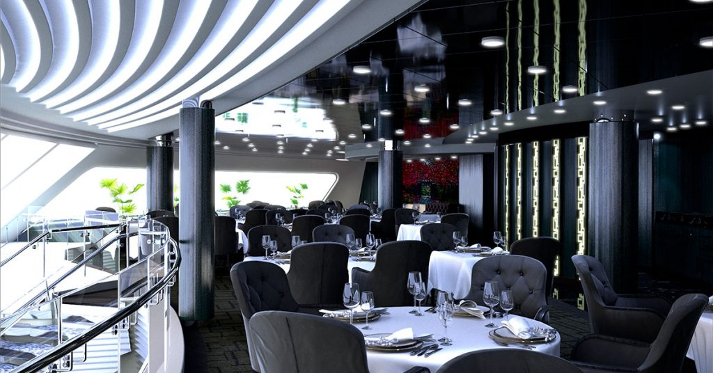 MSC Cruises MSC Virtuosa Yacht Club Restaurant