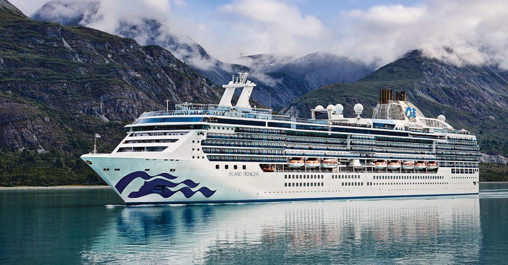 Princess Cruises Island Princess Alaska