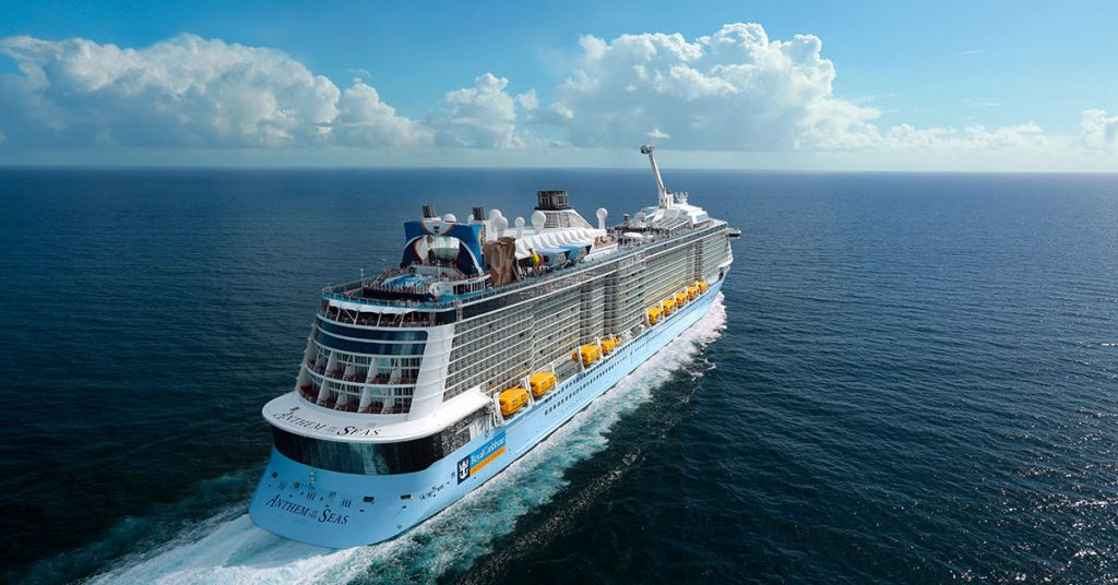 Royal Caribbean Anthem of the Seas at Sea