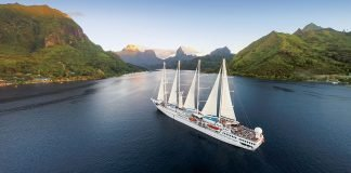 Windstar Cruises Wind Spirit in Tahiti