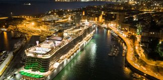 Costa Cruises Costa Smeralda Savona Night