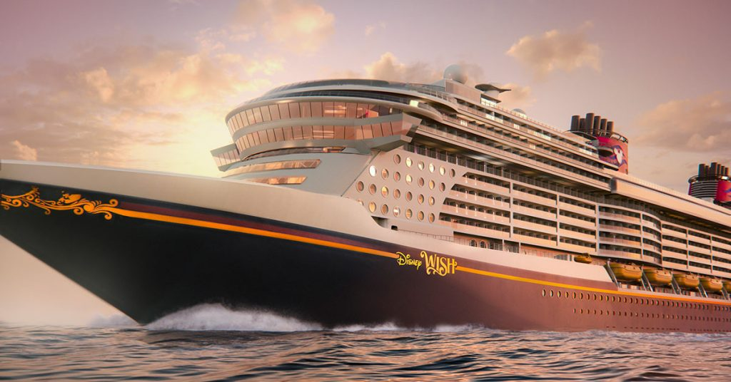 Disney Cruise Wish Rendering