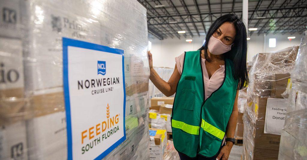Norwegian Cruise Line Donates
