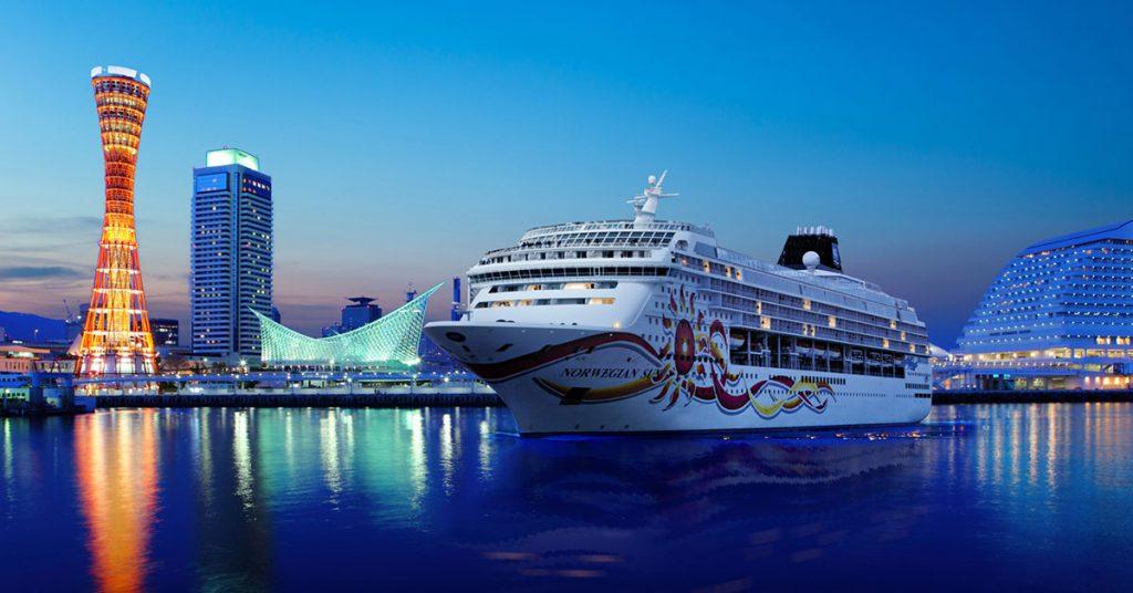 Norwegian Cruise LIne Norwgian sun Kyotokobe Japan