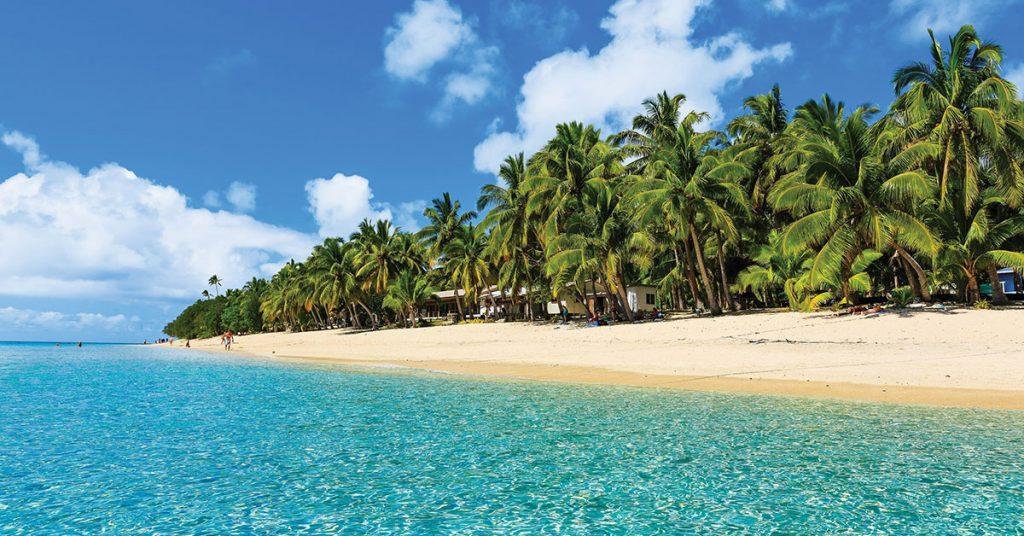 Seabourn Dravuni Beach Fiji