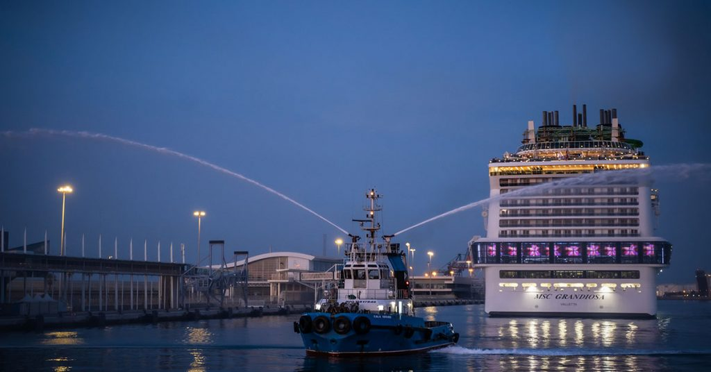 MSC Cuises MSC-Grandiosa-arrives-in-Barcelona---Credit-MSC-Cruises,-Visualmedia-(3)