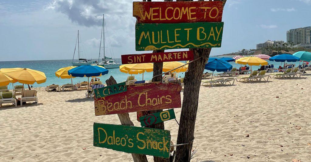 St. Maarten Beaches Mullet Bay