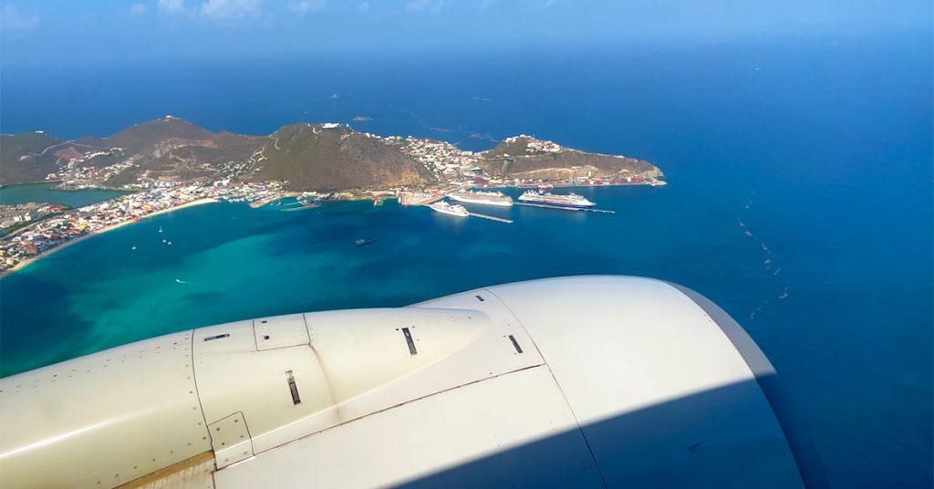 St. Maarten Flight