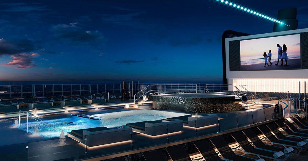 MSC Seashore MSC Cruises Main Pool