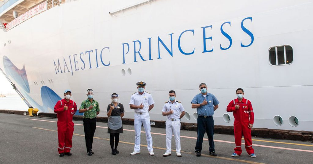 Princess Cruises-Majestic Princess Officers