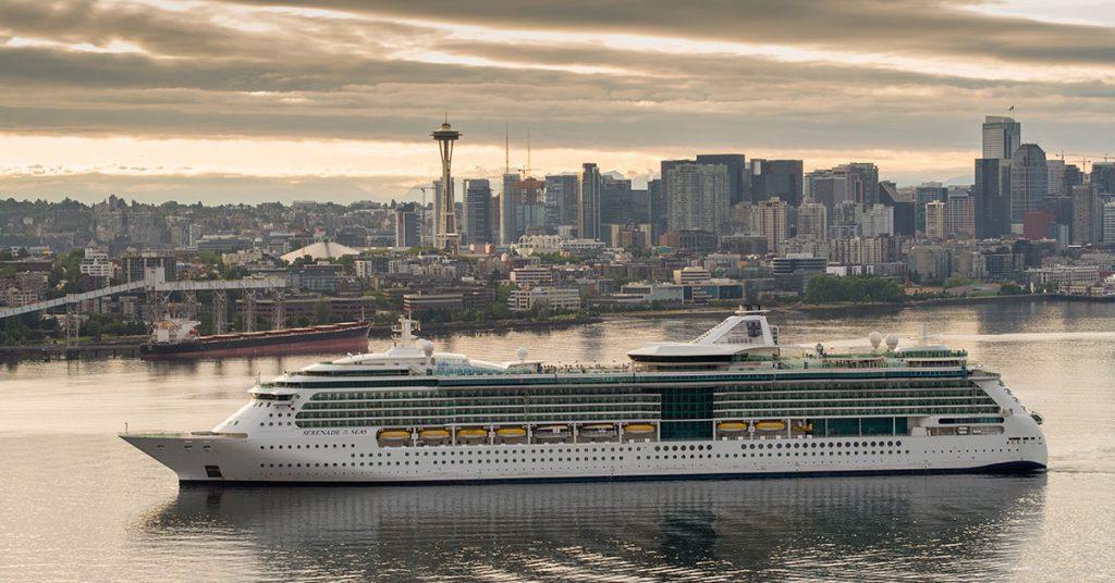 Royal Caribbean Serenade of the Seas Sets Sail For Alaska