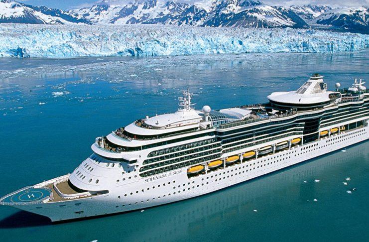 Royal Caribbean Serenade of the Seas in Hubbard Alaska