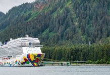 Norwegian Cruise Line alive coverage