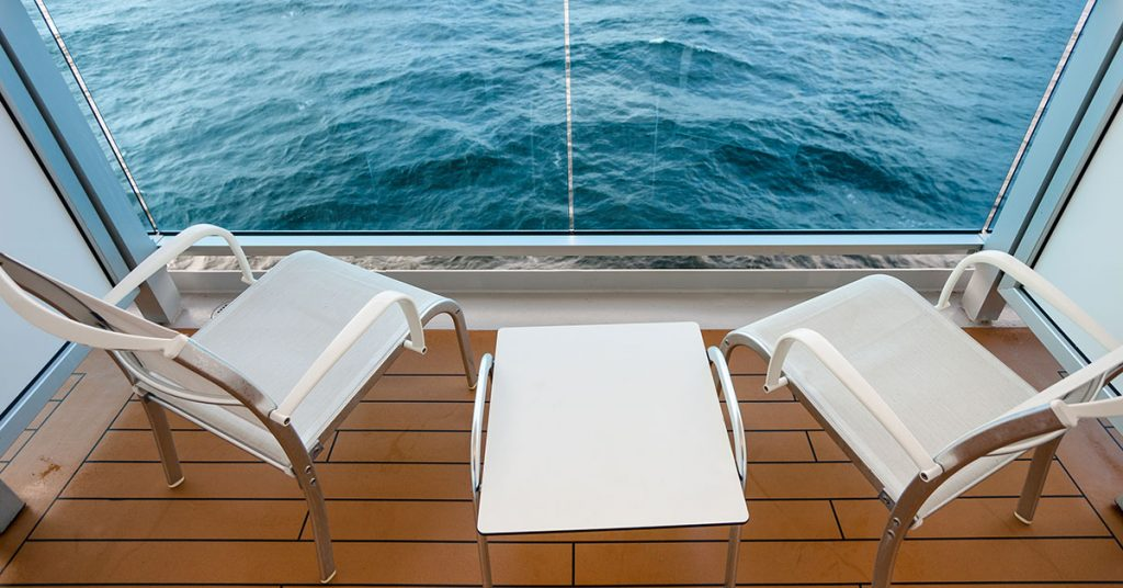 Essential Tips for first-time cruisers balcony