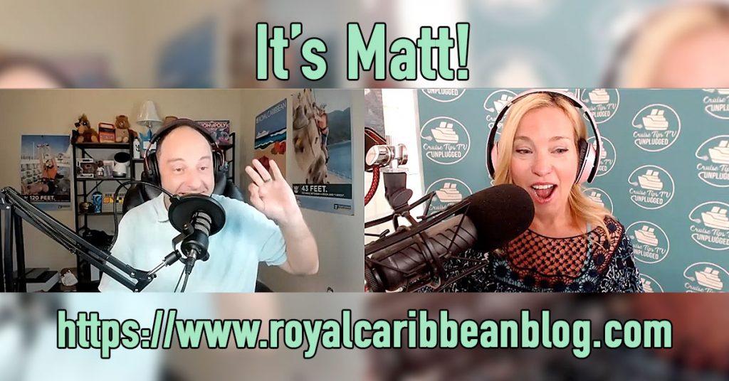 Royal Caribbean Blog's Matt Hochberg Interview Podcast