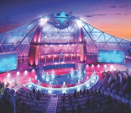 Wonder of the Seas Aqua theatre