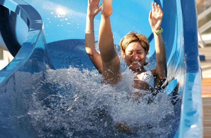 Costa Cruises Slide fun