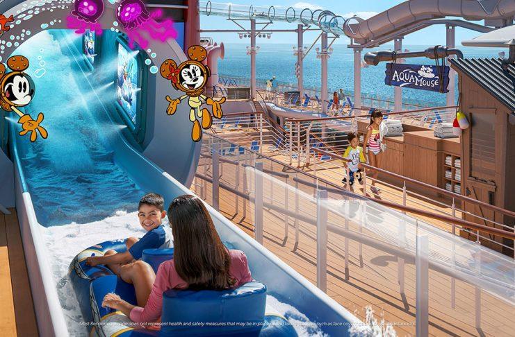 Disney Cruise Disney Wish AquaMouse