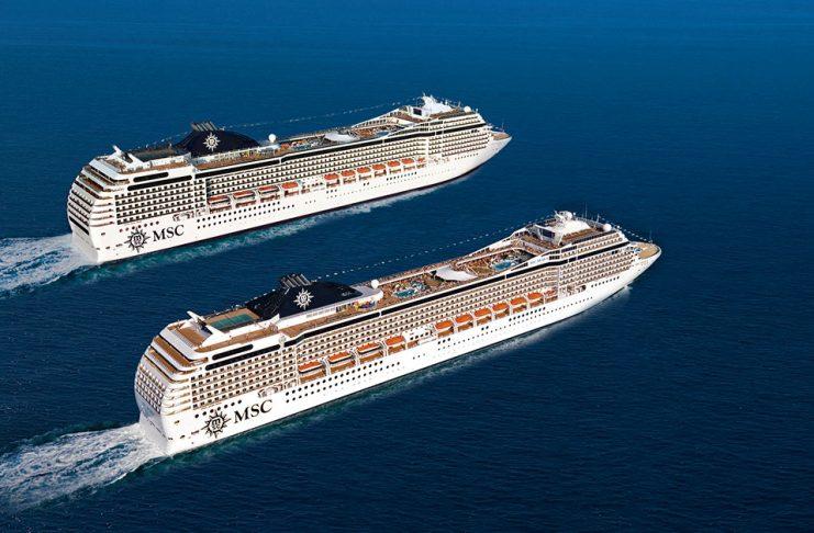 World cruise msc magnifica msc poesia